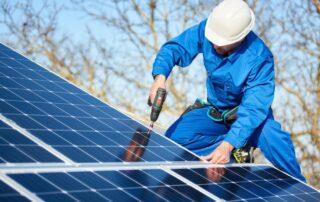 självförsörjande hus med solceller